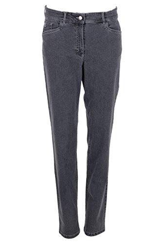 Zerres Damen Jeans Tina - dunkelgrau 511 8057 97 38/30