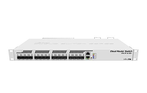 Mikrotik CRS317-1G-16S+RM Cloud Router Switch, Managed, L3, 1U, grau, Montageraster