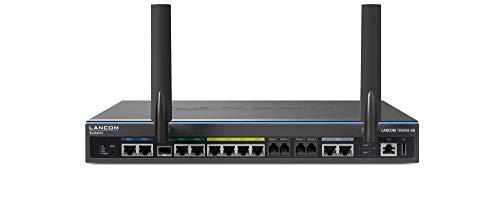 LANCOM 1906VA-4G (EU, over ISDN), Dual-VDSL-VoIP-Router, 2xVDSL2-Vect.Modem, 1xDual-SIM LTE-Adv., 1xSFP/TP, 1xWAN-Eth., 2xISDN S0 (TE/NT+NT), 4xAnalog