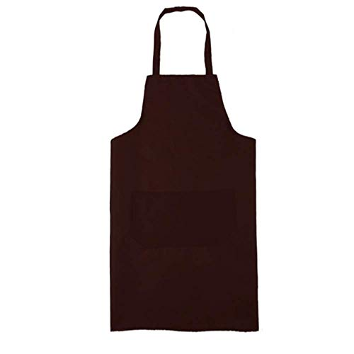 FHFF schort 2019 Cooking Kitchen Apron for Woman Men Kitchen Chef Waiter Cafe Shop BBQ Hairdresser Aprons Black