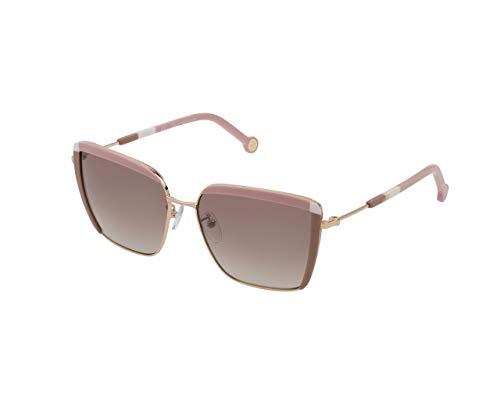 Carolina Herrera She148, Gafas De Sol Mujer, Total Shiny Rose Gold (300X)