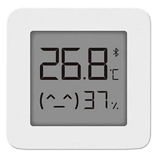 NJZY Termómetro 2 Bluetooth Smart Home Temperatura Sensor de Humedad con Pantalla LCD Termógrafo de Humedad Digital