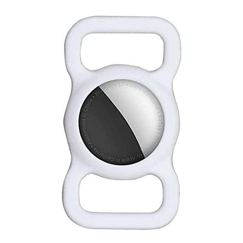 Rpped Silikon schutzhülle für AirTag,Tracker Hundehals Band Kompatibel mit Airtag Pet Loop Holder für Air_Tags Silikonhülle für Hundehalsband/Rucksack/Tasche, GPS Finder