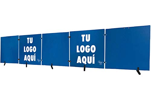 Postes Separadores Azul Marca Metal TT