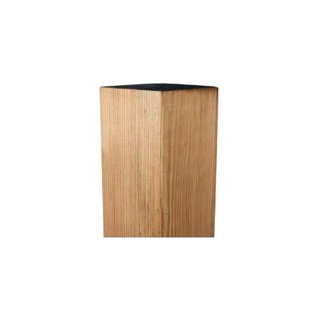 druckimpr/ägniert meingartenversand.de Zaunpfosten//Holzpfosten mit Rundkopf 9 x 9 x 95 cm allseitig gehobelt aus Kiefer