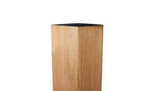 MEIN GARTEN VERSAND Zaunpfähle/Zaunpfeiler aus Holz 9 x 9 x 150 cm allseitig gehobelt aus Kiefer, druckimprägniert