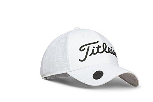 Titleist 2018 Performance Adjustable Ball Marker Hat (White/Black)