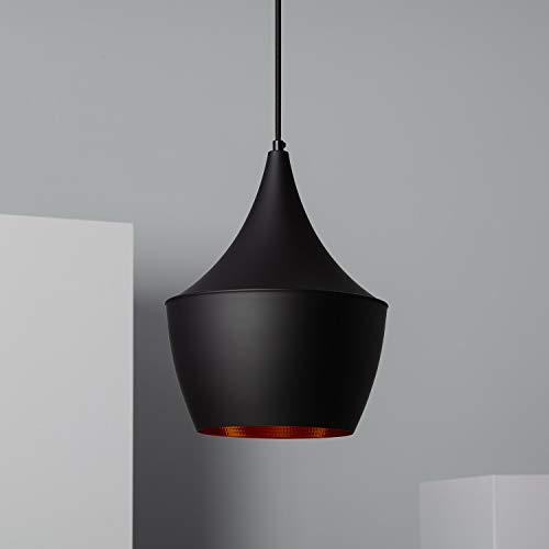 LEDKIA LIGHTING Lámpara Colgante Mercury Negro