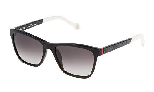 Carolina Herrera SHE646530700 Gafas de sol, Negro, 53 para Mujer