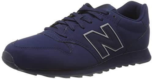 New Balance 500, Sneaker Uomo, Blu (Navy/Silver Navy/Silver), 43 EU