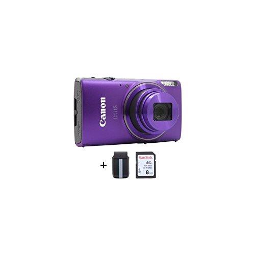 """Canon IXUS 285 HS Appareil-Photo Compact 20, 2 MP 1/2.3"""" CMOS 5184 x 3888 Pixels Violet - Appareils Photos numériques (20, 2 MP, 5184 x 3888 Pixels, CMOS, 12x, Full HD, Violet)"""