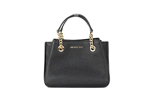 Made of pebbled leather Removable and adjustable shoulder strap, wear crossbody, over the shoulder or carry by hand Top snap closure Inside 3 compartments, 1 zip pocket and 1 slip pocket 9'' L X 7'' H X 4.5'' W