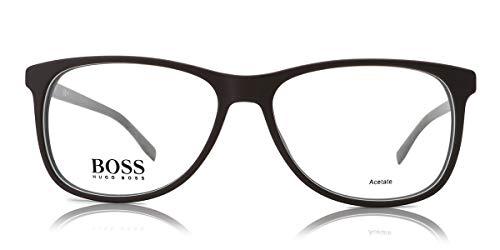 Hugo Boss BO-0220-MYI-18-53-18-140 Orange Brillengestelle BO-0220-MYI-18-53-18-140 Rechteckig Brillengestelle 55, Grau