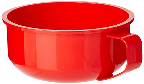 Product Image 2: Sistema Microwave Collection Breakfast Bowl, 28.7oz./850ml, Red