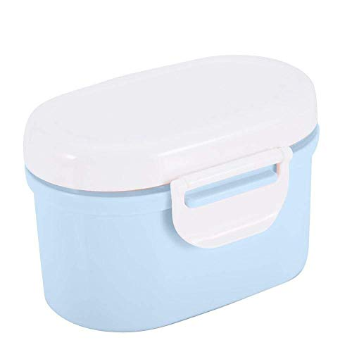 MISLD Baby Melk Poeder Dispenser, Kids Formule Seal Opbergdoos Container Micro Koelkast Veilig Kind Snoep Fruit Snack Cup Canister voor Reizen Picnic