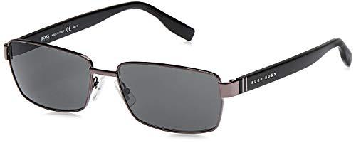 Hugo Boss Herren BOSS 0475/S P9 V81 58 Sonnenbrille, Schwarz (Dkruth Black/Grey)