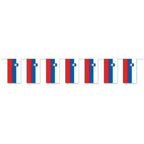 Everflag Papierfahnen-Kette 5m : Slowenien