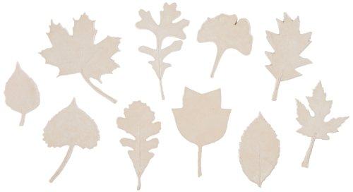 Sax Natures Impressions Leaf Print, Assorted Sizes (Set of 10)