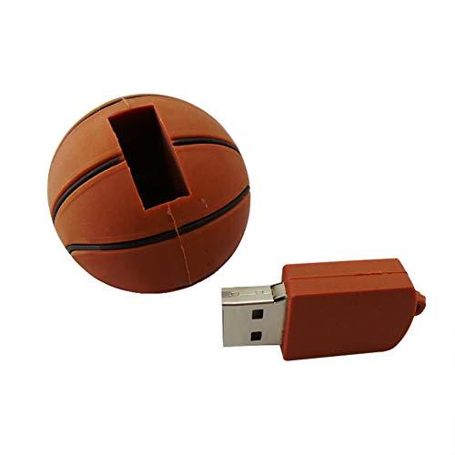 TREESTAR USB 3.0 32GB Deportes de Dibujos Animados Baloncesto Esférico USB Flash de Alta Velocidad Llavero USB Flash Drive Pendrive Memory Stick