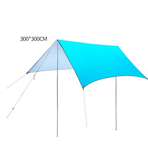 XGYUII Hangmat regen outdoor tent Tarp waterdichte UV bescherming luifel oversized luifel outdoor pergola Ultralight zon bescherming regendichte tent