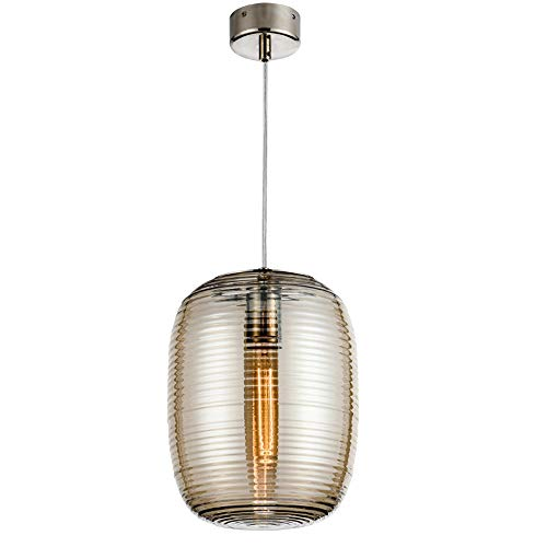 Hanglamp LED schroefdraad glazen fles kroonluchter postmodern cognac glas decoratieve hanglamp Nordic restaurant keuken plafondlamp