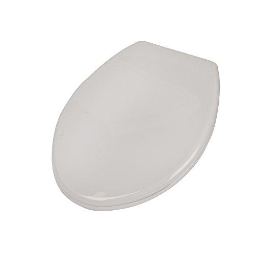Tremendous Twyford Plastic Toilet Seat White Machost Co Dining Chair Design Ideas Machostcouk