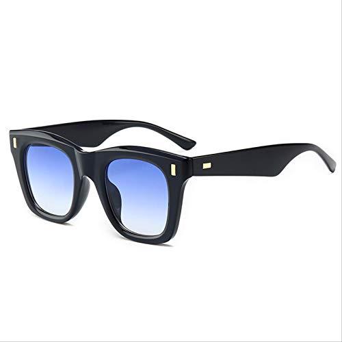 ODNJEMSD Gafas De Sol Vintage Gafas De Sol para Hombre Y Mujer Gafas De Sol De Moda Gafas De Sol Cuadradas
