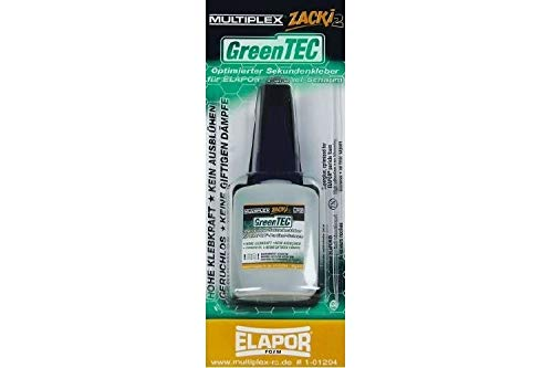 Onbekend Multiplex Zacki2 Greentec secondelijm 1-01294 20 g