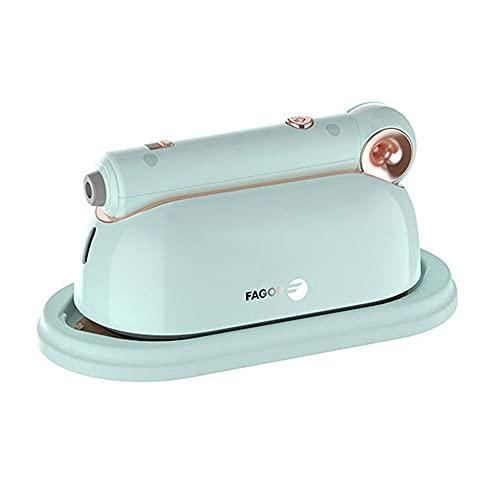KELITE 1000W Handheld Hierro de Vapor Plegable Ropa eléctrica vaporizador de Vapor Colgando Planchado Hogar Ropa de Viaje Máquina de Planchar (Color : Blue)