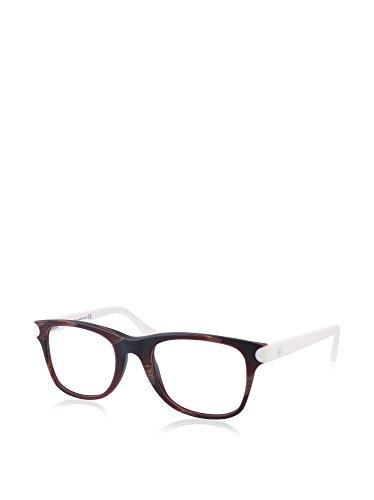 Balenciaga Brillengestelle Ba5034 65A-52-21-140 Monturas de gafas, Negro (Schwarz), 52.0 para Mujer