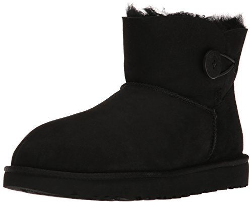 UGG Australia Mini Bailey Button II Stiefel Women black - 42