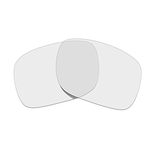 HKUCO HKUCO Mens Replacement Lenses for Oakley Holbrook Sunglasses Transparent Polarized