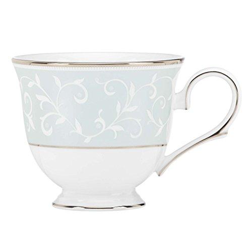 Lenox Opal Innocence Blue Tea Cup, White
