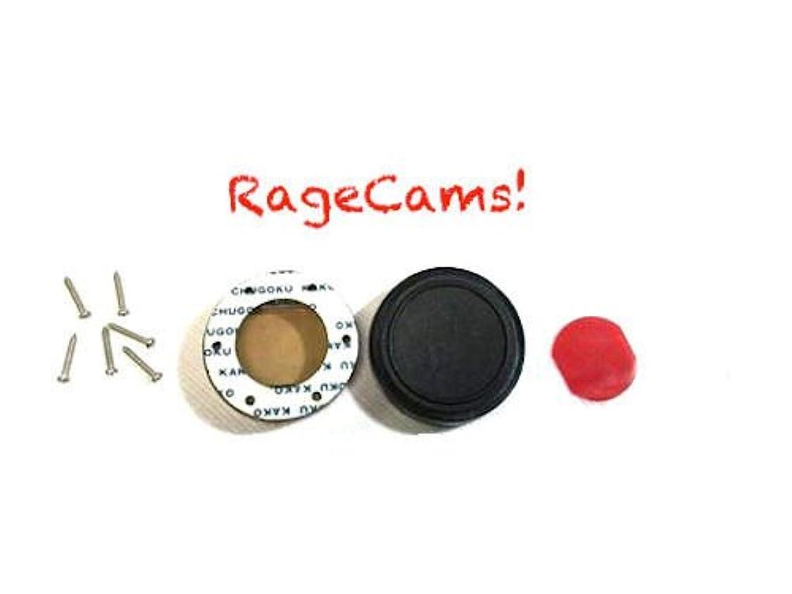 RageCams Flat Lens Oculus Blur Fix Red Filter for GoPro Hero1 & Hero2 tm85860407746820