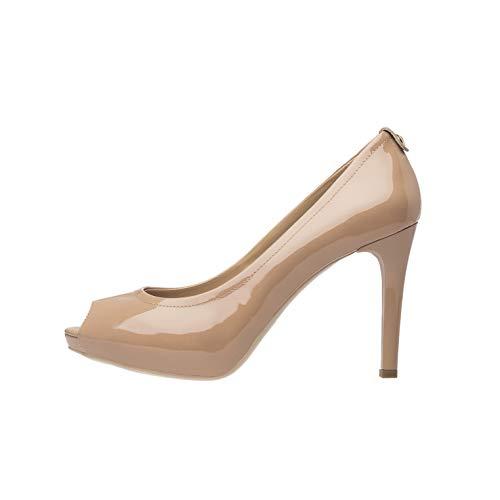 NeroGiardini P805416DE Zapatos De Salón Mujer De Charol - Nude 37 EU