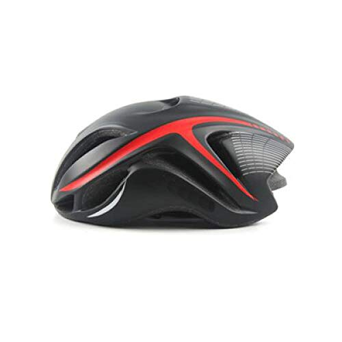 LIUDATOU Road Racing Triathlon Aero Cycling Helmet City Mtb Mountain Evade Bike Helmet Safety Bicycle Equipment Black RedOne Size