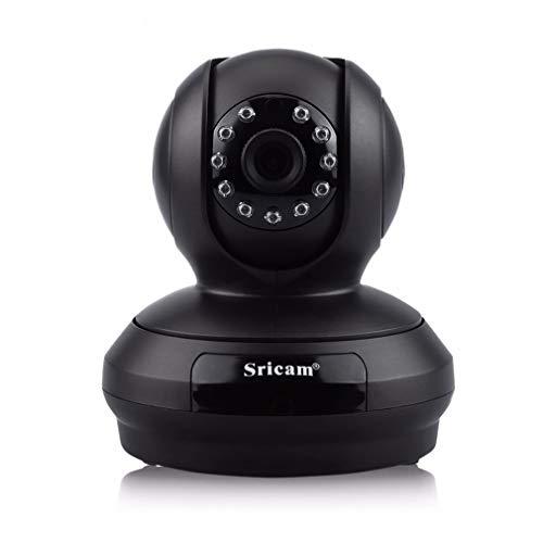 SP019 1080P Home Surveillance Camera Nachtzicht WiFi IP Beveiligingscamera Zwart EU-stekker