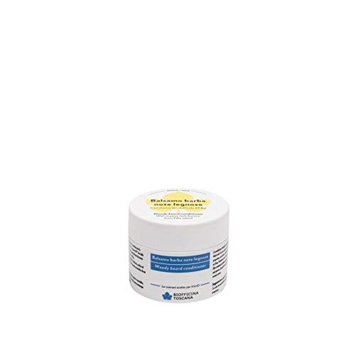 Bálsamo acondicionador para barba amaderado Biofficina Toscana 100 ml
