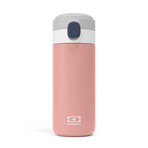 monbento - MB Pop rosa Flamingo - Edelstahl trinkflasche - BPA frei - Thermosflasche 360 ml
