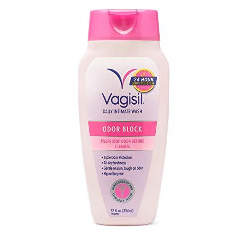 Vagisil Odor Block Daily Intimate Feminine Vaginal Wash, 12 Ounce