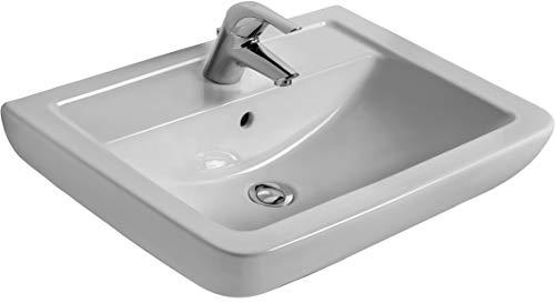 Ideal Standard Waschtisch EUROVIT Plus, 650x460x190mm, Weiß, V302801