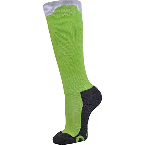 MONNET - Mi Bas Snow Park Junior Vert Chaussettes - Vert - 29/30 - Vert