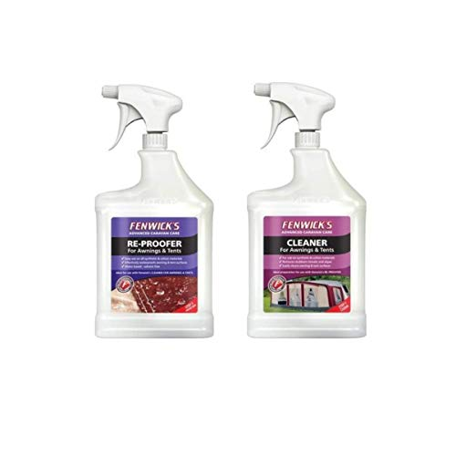 Fenwicks Ultimate Tent & Awning Cleaning Combo - Awning & Tent Cleaner + Awning & Tent Reproofer (2...