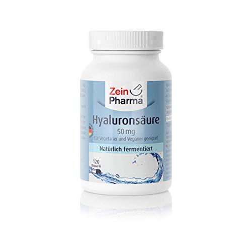 ZeinPharma Hyaluronsäure 120 vegetarische Kapseln , 1er Pack (1 x 58 g)