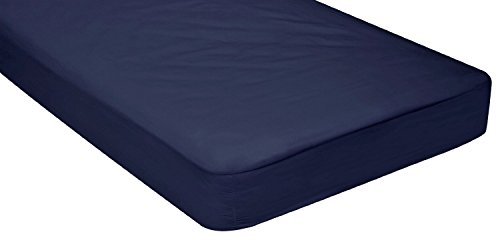 "Gilbins Cot Size 30"" x 75"" Fitted Sheet, Made of Cotton, Perfect for Camp Bunk Beds / RVs / Guest Beds"