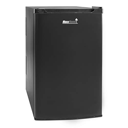 MaxxHome mini frigo elettrico - 80 litri - 230 V - Classe di efficienza energetica B (Nero Grande)