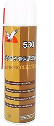 GLOBAL STATCLEAN SYSTEMS Electronic Products Environmental Friendly Contact Spray Cleaner 530 Electronic Contact Cleaner Spray for Mobile Phones LED TV Vehicles Motherboard Cleaning etc