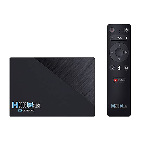 Android TV Box, Reproductor de Red Set-Top Box Android 11 Dual WiFi + BT 8 + 64gb Multi-Interface Smart TV Box, para Home TV