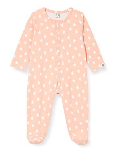 Tuc Tuc Pelele Punto Cozy Friends Mamelucos para bebés y niños pequeños, Rosa, 6-9M