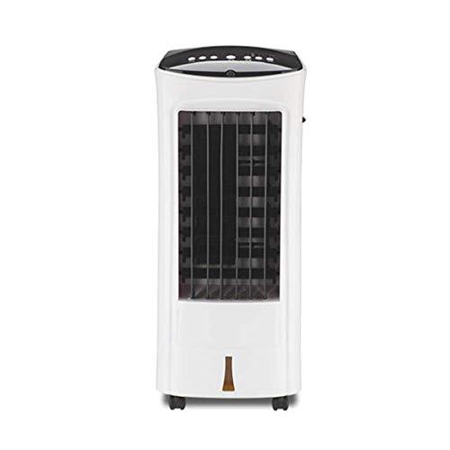 AI LI WEI Acondicionador de Aire, Móvil, Sin Tubo de Escape Refrigerador de Aire 4 en 1, Calentador, humidificador, purificador de Aire, Blanco